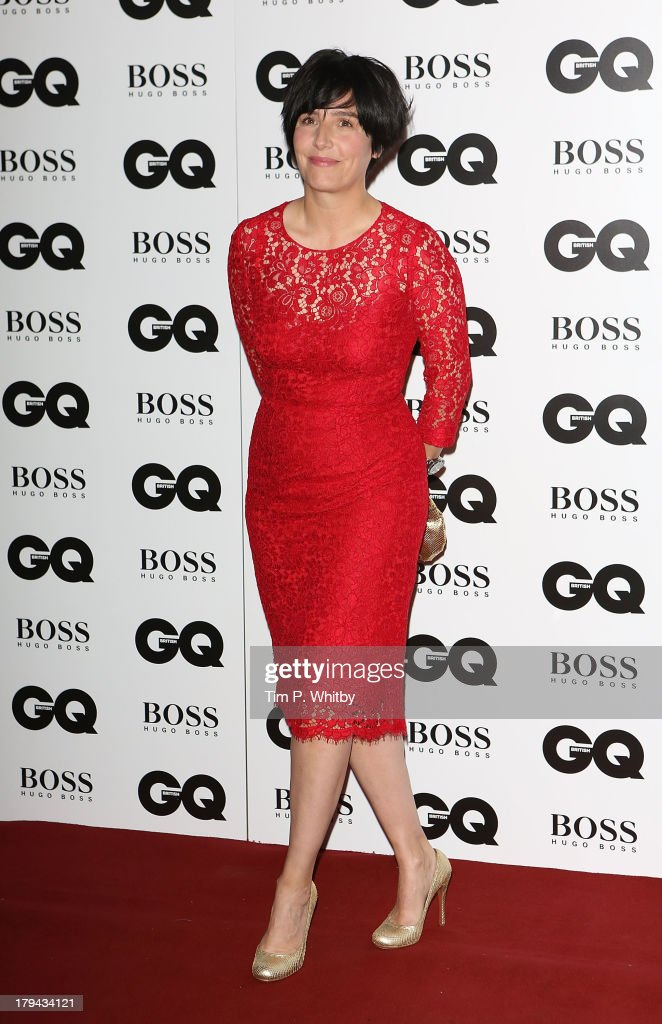 Sharleen Spiteri attends the GQ Men of the Year awards at The Royal Opera House on September 3, 2013 in London, England.