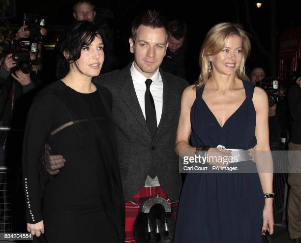 Sharleen Spiteri Ewan McGregor and Lady Helen Taylor arrive for the Not Another Burns' Night charity event at the St Martins Lane Hotel London...