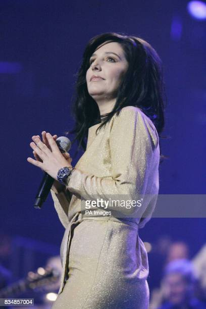 Sharleen Spiteri performs at the BBC Electric Proms 2008 Saturday Night Fever at the Roundhouse Chalk Farm London