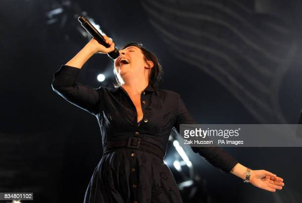 Sharleen Spiteri performs during the BBC Proms In The Park 2008 concert in Hyde Park central London
