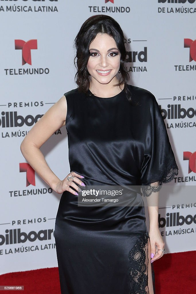 Sharlene Taule attends the Billboard Latin Music Awards at Bank United Center on April 28, 2016 in Miami, Florida.