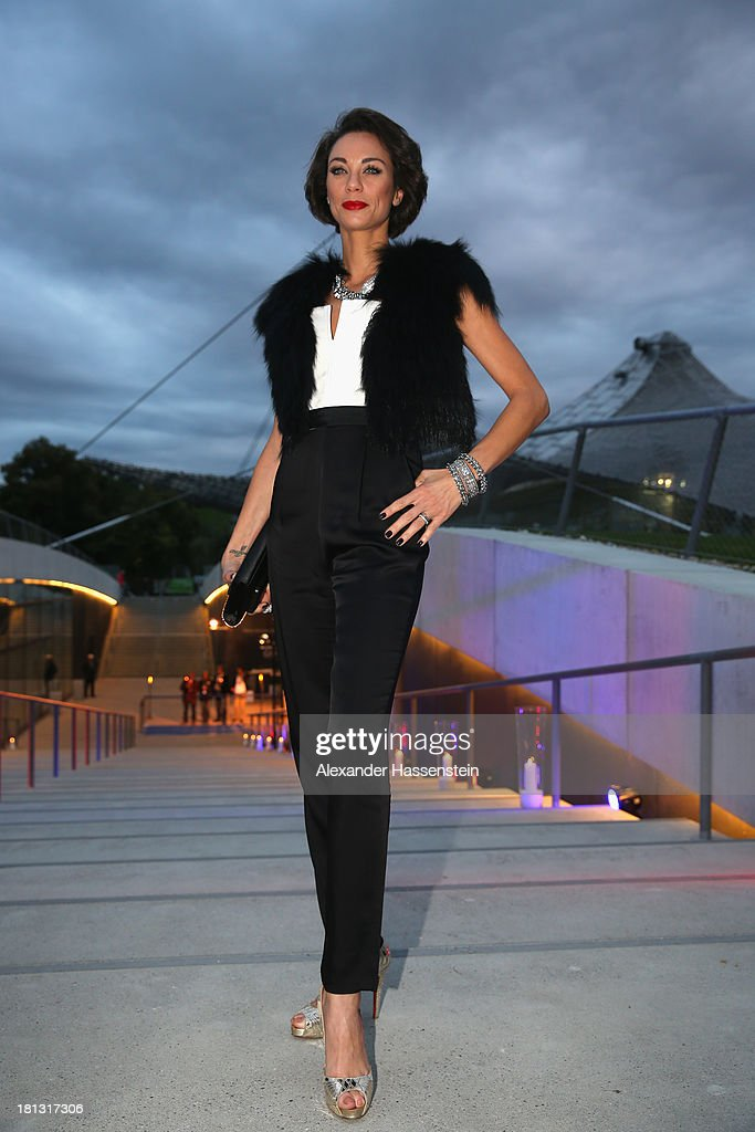 Sharley 'Lilli' Becker attends the Laureus Sport for Good Night 2013 at Munich Olympiahalle on September 20, 2013 in Munich, Germany.