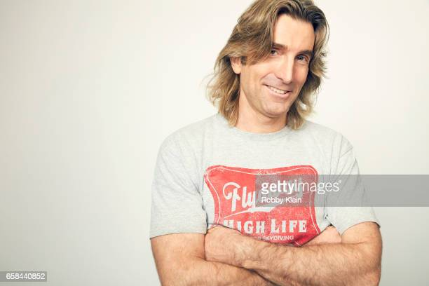 Sharlto Copley of 'Free Fire' poses for a portrait at The Wrap and Getty Images SxSW Portrait Studio on March 12 2017 in Austin Texas