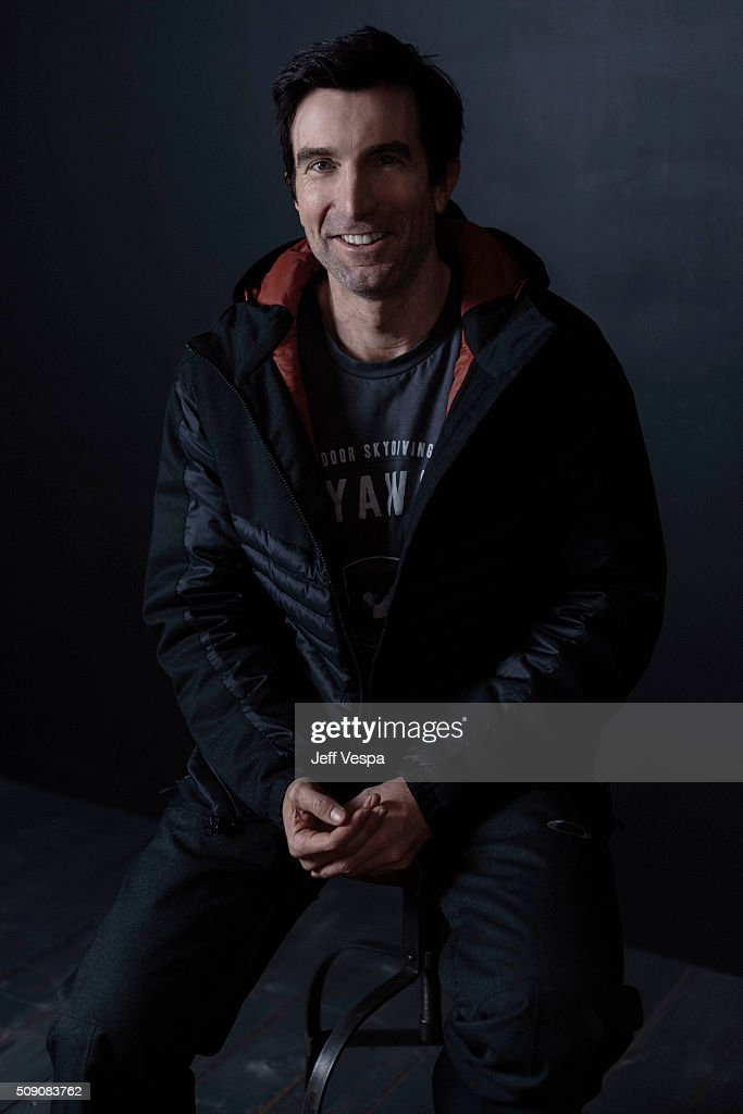 Sharlto Copley of 'The Hollars' poses for a portrait at the 2016 Sundance Film Festival on January 23, 2016 in Park City, Utah.