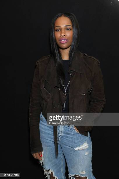 Sharmadean Reid attends the MercedesBenz #MBCOLLECTIVE Chapter 1 launch party with M I A and Tommy Genesis on March 23 2017 in London United Kingdom