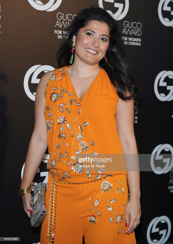 Sharmeen Obaid Chinoy attends the Gucci Award for Women in Cinema at The 69th Venice International Film Festival at Hotel Cipriani on August 31, 2012 in Venice, Italy.