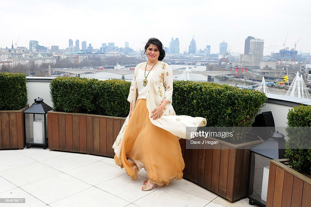 Sharmeen Obaid-Chinoy attends a photo call to launch 'The Sound Of Change Live' at the Corinthia Hotel on March 26, 2013 in London, United Kingdom. Chime For Change, a global campaign for girls' and women's empowerment founded by Gucci and with a founding committee comprised of Gucci Creative Director Frida Giannini, Salma Hayek Pinault and Beyonce Knowles-Carter, today announced a concert event at London's Twickenham Stadium on June 1 with Co-founder and Artistic Director, Beyonce as headliner. Also set to perform are Ellie Goulding, Florence and the Machine, HAIM, Iggy Azalea, John Legend, Laura Pausini, Rita Ora, Timbaland and more to be announced.