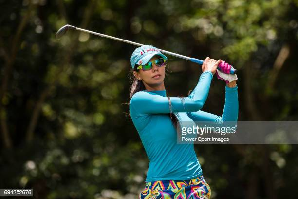 Sharmila Nicollet of India during the 2017 Hong Kong Ladies Open on June 9 2017 in Hong Kong Hong Kong