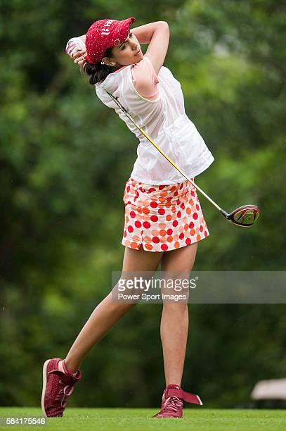 Sharmila Nicollet of India in action during the Mission Hills Celebrity ProAm on 25 October 2014 in Haikou China