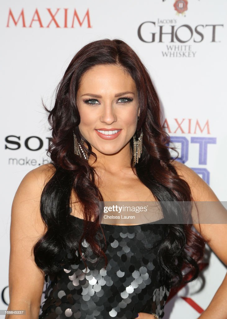 Sharna Burgess arrives for Maxim's Hot 100 Celebration at Create Nightclub on May 15, 2013 in Hollywood, California.
