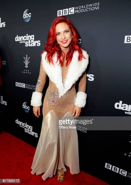 Sharna Burgess at The Grove Hosts Dancing with the Stars Live Finale at The Grove on November 21 2017 in Los Angeles California