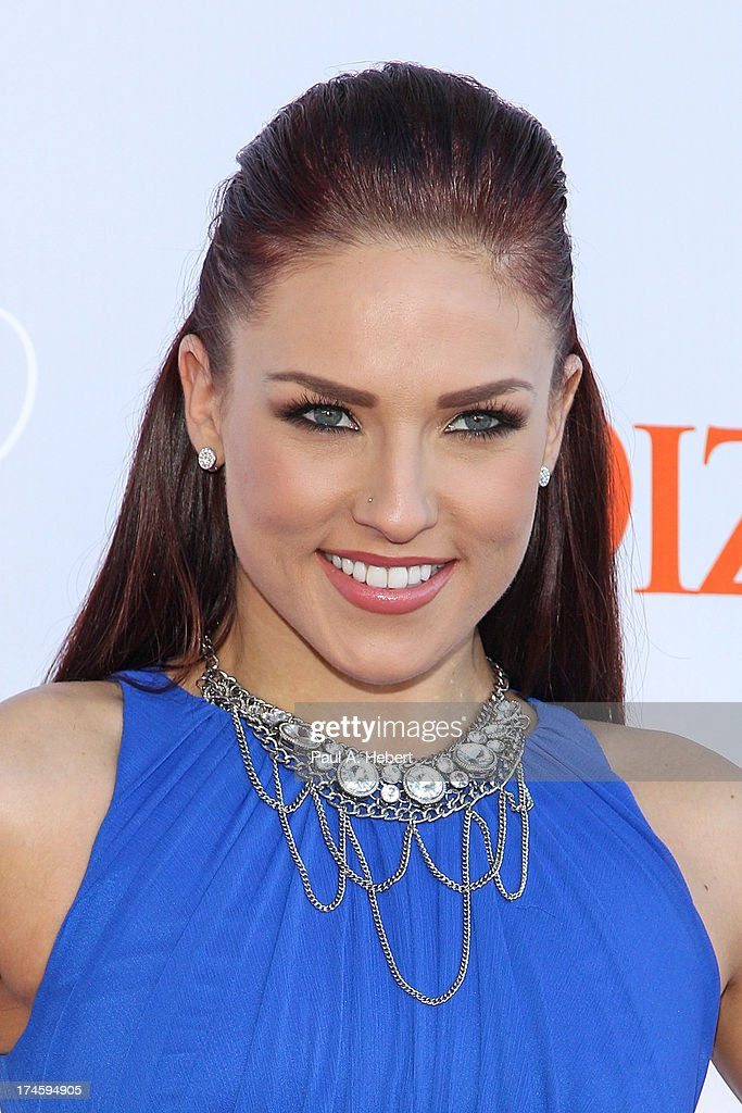 Sharna Burgess attends the 3rd Annual Dizzy Feet Foundation's Celebration Of Dance Gala at Dorothy Chandler Pavilion on July 27, 2013 in Los Angeles, California.
