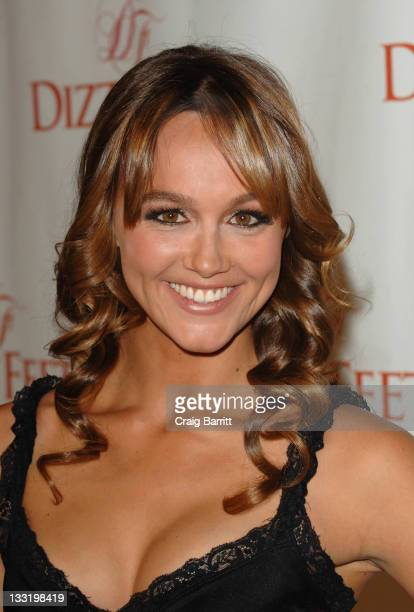Sharni Vinson arrives at the Dizzy Feet Foundation's Inaugural Celebration Of Dance at the Kodak Theatre on November 29 2009 in Hollywood California
