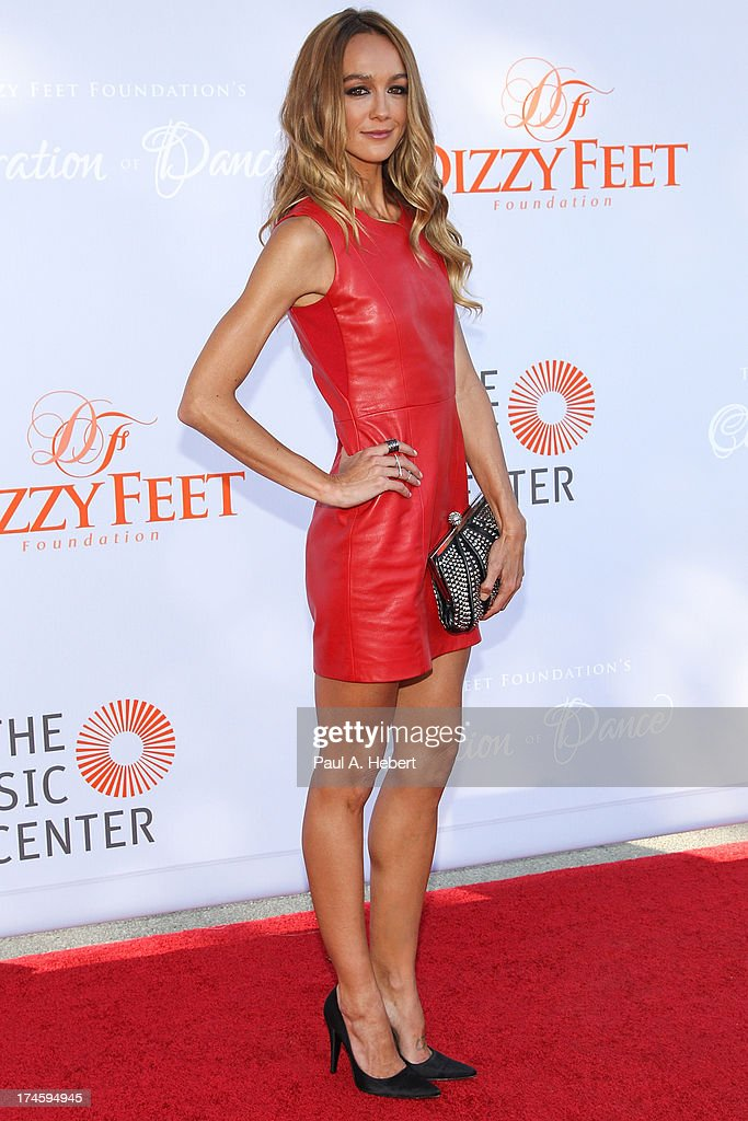 Sharni Vinson attends the 3rd Annual Dizzy Feet Foundation's Celebration Of Dance Gala at Dorothy Chandler Pavilion on July 27, 2013 in Los Angeles, California.