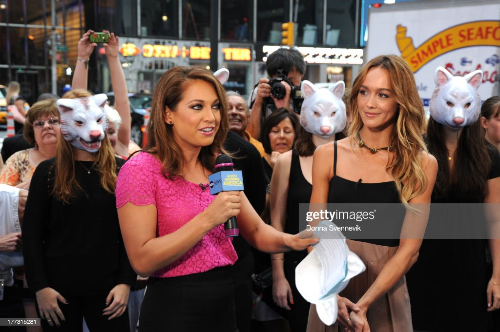 AMERICA - Sharni Vinson is a guest on 'Good Morning America,' 8/22/13, airing on the ABC Television Network. (Photo by Donna Svennevik/ABC via Getty Images) GINGER