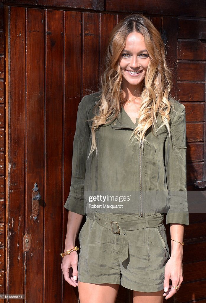 Sharni Vinson poses for the press while presenting her latest film 'Patrick' at the 46th Sitges Film Festival on October 11, 2013 in Sitges, Spain.