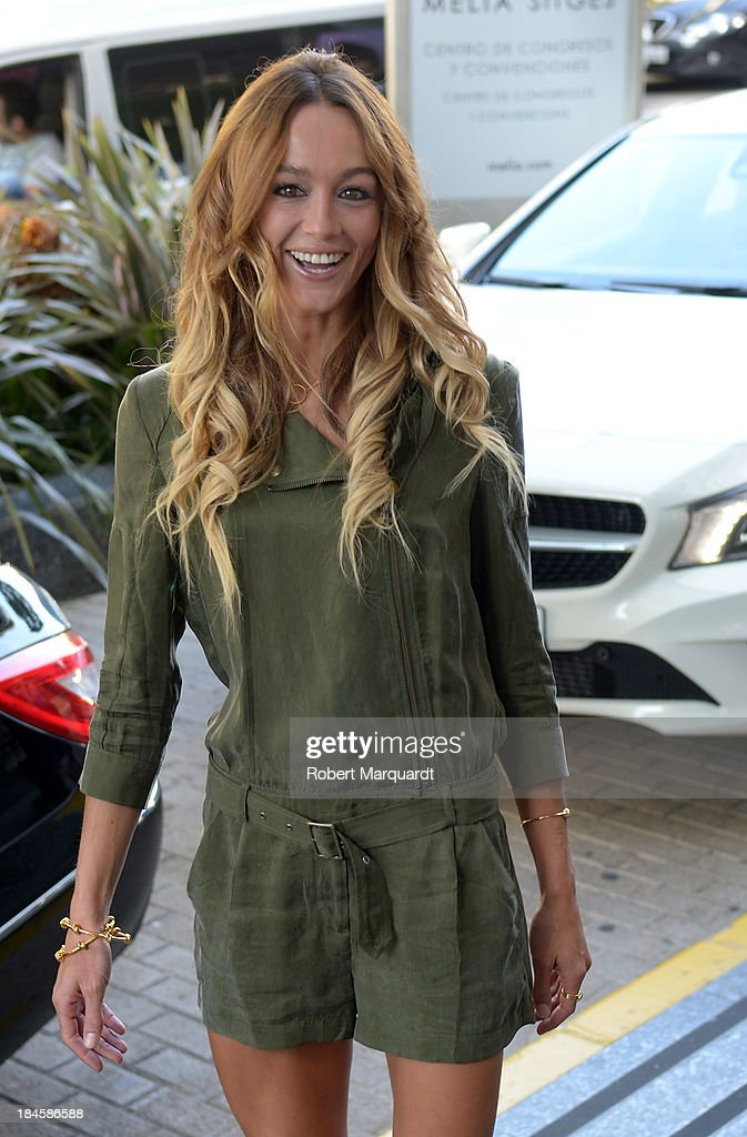 <a gi-track='captionPersonalityLinkClicked' href=/galleries/search?phrase=Sharni+Vinson&family=editorial&specificpeople=690345 ng-click='$event.stopPropagation()'>Sharni Vinson</a> seen arriving at the Hotel Melia to present her latest film 'Patrick' at the 46th Sitges Film Festival on October 11, 2013 in Sitges, Spain.