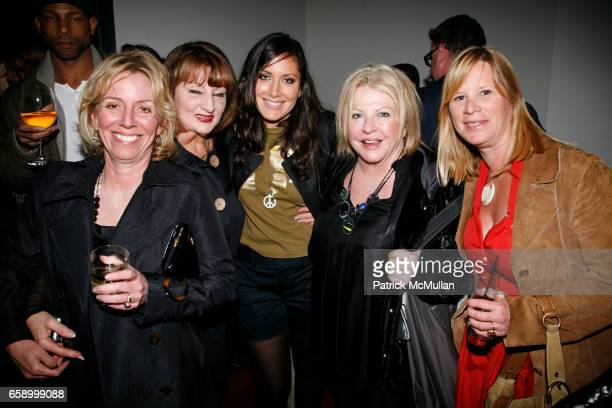 Sharon Allan Margret Rayner Stacy Morgenstern Igel Susie Carlton and Johnna Hampton attend THE COOPER SQUARE HOTEL MINIBAR EXCLUSIVES UNVEILING at...