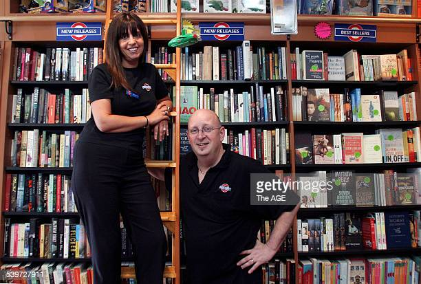 Sharon and David Marlow of Book Street Bookshop Hampton 15 February 2006 THE AGE NEWS Picture by NIC KOCHER
