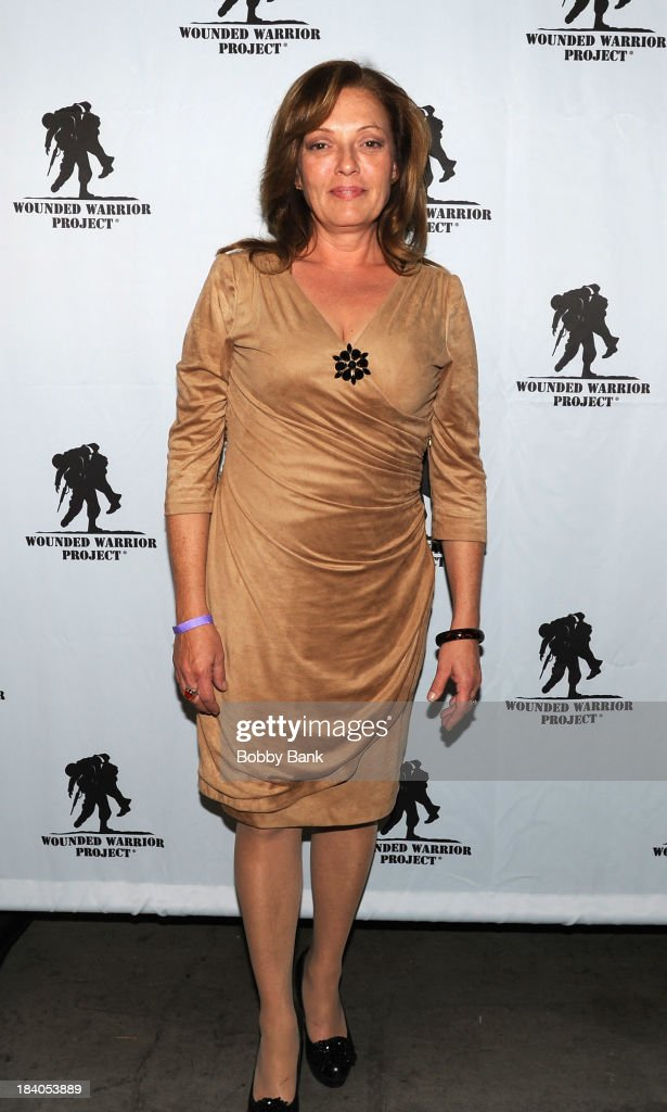 Sharon Angela attends the Wounded Warrior Project Carry Forward Awards Show at Club Nokia on October 10, 2013 in Los Angeles, California.