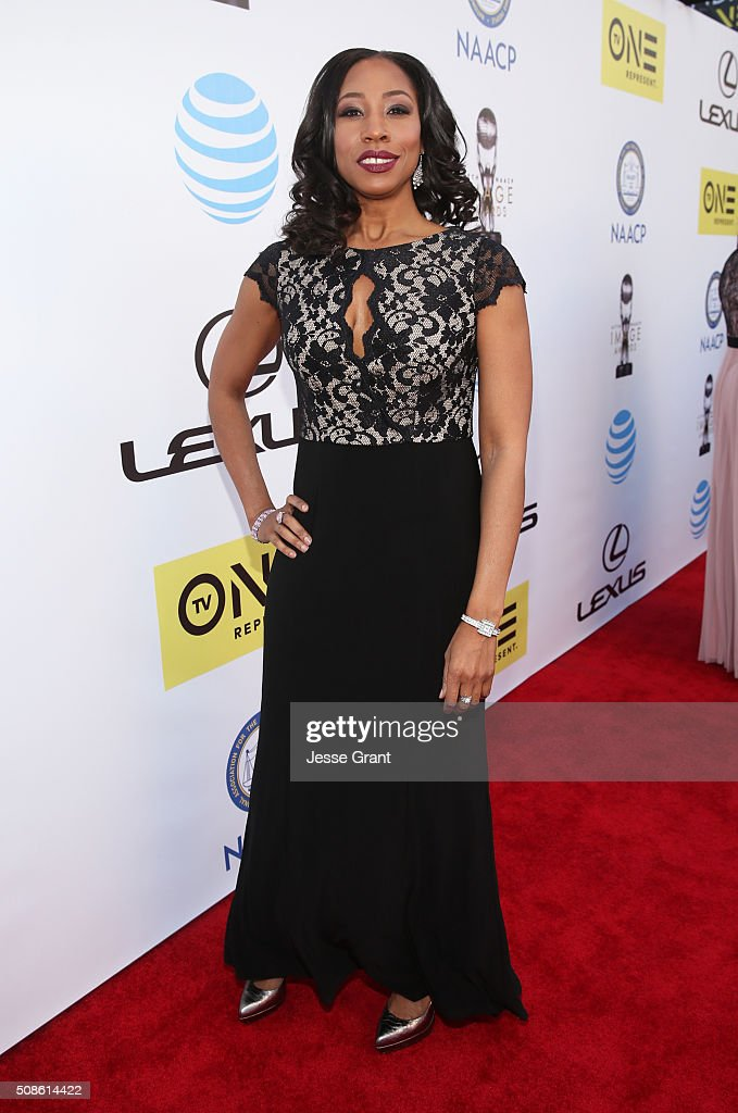 Sharon Brathwaite attends the 47th NAACP Image Awards presented by TV One at Pasadena Civic Auditorium on February 5, 2016 in Pasadena, California.