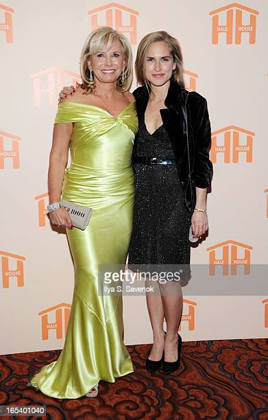 Sharon Bush and Ashley Bush attend The 2013 Hale House Spring Gala at Mandarin Oriental Hotel on April 3 2013 in New York City Photo by Ilya S...