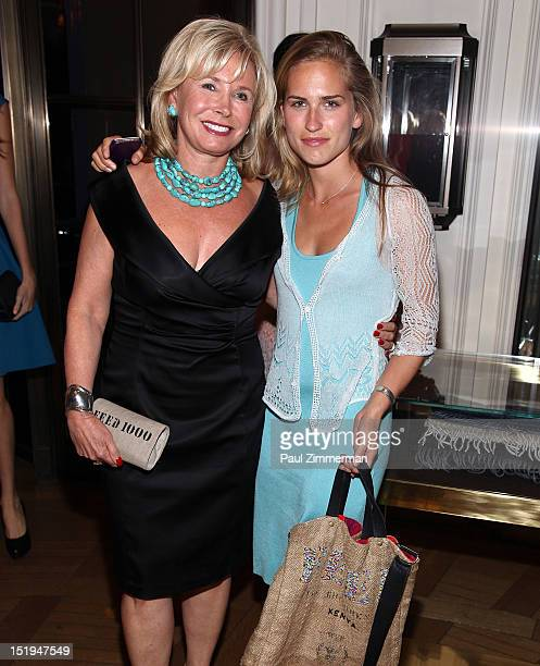 Sharon Bush and Ashley Bush attend the after party for the screening Of 'Scatter My Ashes At Bergdorfs' to celebrate Bergdorf Goodman's 111th...
