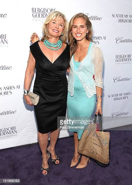 Sharon Bush and Ashley Bush attend the screening Of 'Scatter My Ashes At Bergdorfs' to celebrate Bergdorf Goodman's 111th Anniversary at Paris...