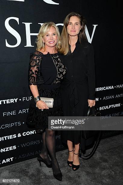 Sharon Bush and Lauren Bush Lauren attend 2016 NYAAJS Opening Night at Pier 94 on November 9 2016 in New York City