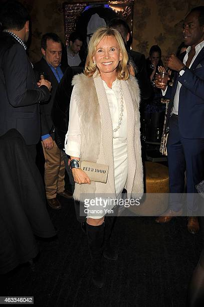 Sharon Bush attends HANLEY MELLON Fall/Winter 2015 Collection Presentation After Party at Beautique on February 12 2015 in New York City