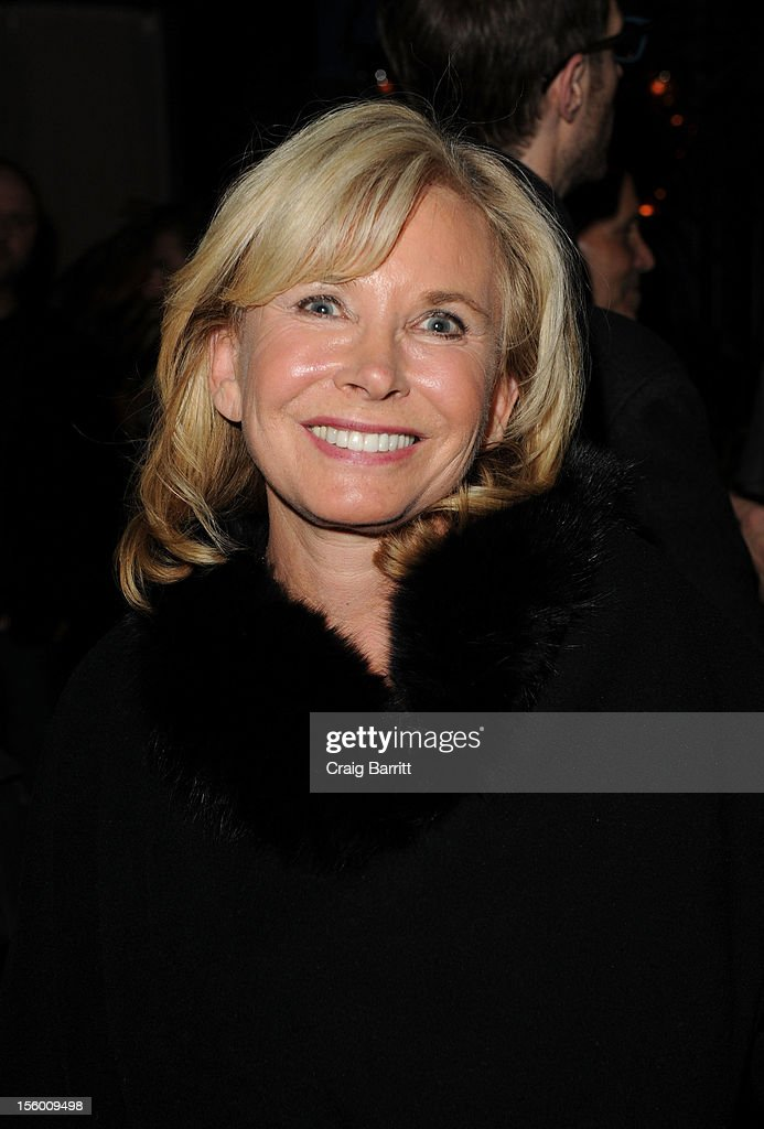 Sharon Bush attends 'Sing Me The Songs That Say I Love You: A Concert For Kate McGarrigle' premiere after party at Tribeca Grand Hotel on November 10, 2012 in New York City.
