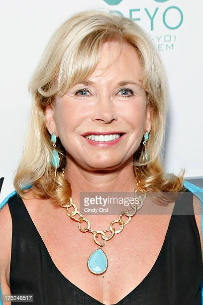 Sharon Bush attends the 2013 Edeyo Gives Hope Ball at Highline Ballroom on July 10 2013 in New York City