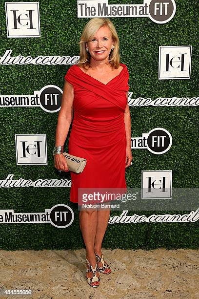Sharon Bush attends the 2014 Couture Council Award Luncheon Benefit for the Museum at FIT honoring Carolina Herrera at the David H Koch Theater at...