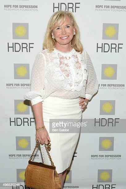 Sharon Bush attends the 2015 Hope For Depression Research Foundation Luncheon at 583 Park Avenue on November 10 2015 in New York City