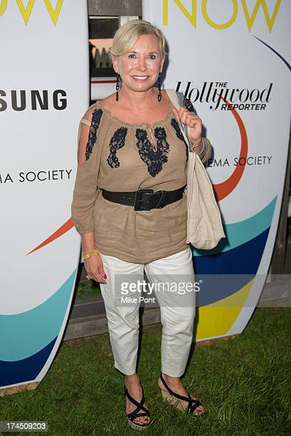 Sharon Bush attends The Hollywood Reporter Samsung with The Cinema Society screening of A24's 'The Spectacular Now' at The Crow's Nest on July 26...