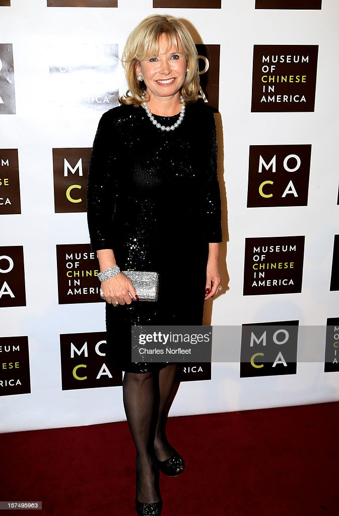Sharon Bush attends the Museum of Chinese in America's Annual Legacy awards dinner at Cipriani Wall Street on December 3, 2012 in New York City.