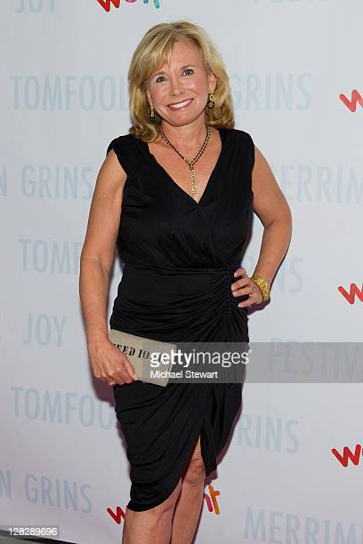 Sharon Bush attends Wetpaint Entertainment's one year anniversary party at Espace on October 5 2011 in New York City