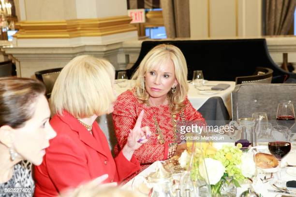 Sharon Bush during the Lauren Lawrence and Leesa Rowland Host a Ladies Who Lunch Luncheon on October 17 2017 in New York City