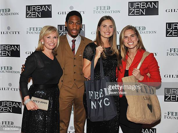 Sharon Bush Jonathan Batiste Lauren Bush Lauren and Ashley Bush attend FEED Projects Fourth annual FEED raiser at Urban Zen on December 14 2011 in...