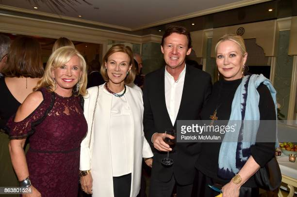 Sharon Bush Judy Gordon Cox Quentin Bacon and Nina Griscom attend the launch of Second Bloom Cathy Graham's Art of the Table hosted by Joanna Coles...