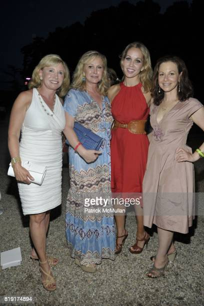 Sharon Bush Kathy Hilton Brooke Davenport and Bettina Zilkha attend Paradiso The 17th Annual Watermill Summer Benefit 2010 at Watermill Center on...