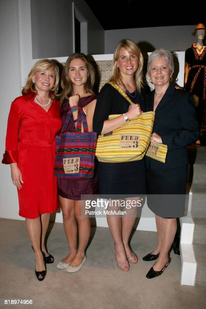 Sharon Bush Lauren Bush Ellen Gustafson and Christine Nevin attend LORD TAYLOR Mother/Daughter Tea for FEED with LAUREN BUSH and ELLEN GUSTAFSON at...