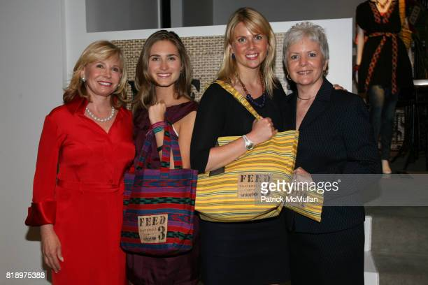 Sharon Bush Lauren Bush Ellen Gustafson and Christine Nevin attend LORD TAYLOR Mother/Daughter Tea for FEED with LAUREN BUSH and ELLEN GUSTAFSON at...