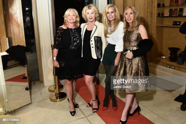 Sharon Bush MichelleMarie Heinemann Paola Baccini and Lauren Lawrence attend Old Fashioned Mom Magazine and Traum Safes welcome Jacques Bounin from...