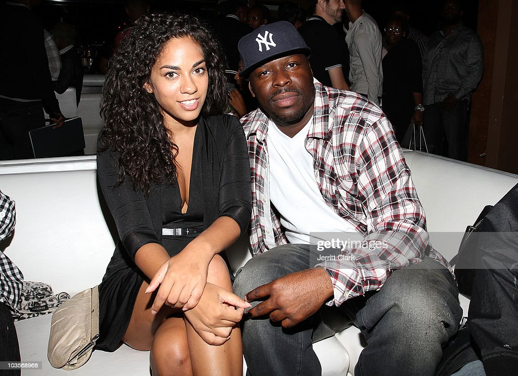Sharon Carpenter and James Cox attend YRB's 2010 art issue celebration at Lucky Strike on August 23 2010 in New York City