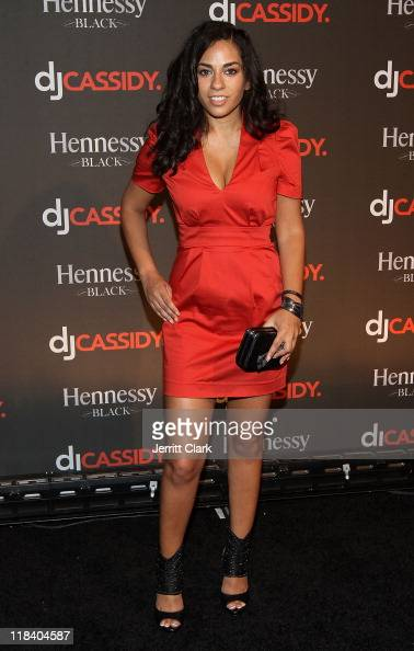 Sharon Carpenter attends DJ Cassidy's 30th birthday celebration and the one year anniversary of Hennessy Black at the Intrepid SeaAirSpace Museum on...