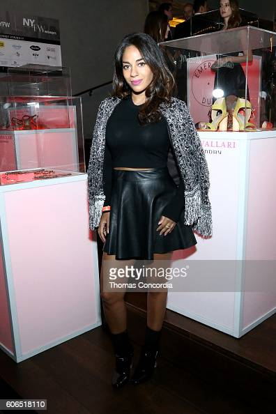 Sharon Carpenter attends Kia STYLE360 hosts Kristin Cavallari Collections for Emerald Duv Jewelry Chinese Laundry at Row NYC on September 15 2016 in...