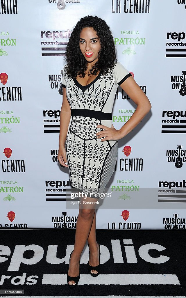 <a gi-track='captionPersonalityLinkClicked' href=/galleries/search?phrase=Sharon+Carpenter&family=editorial&specificpeople=671312 ng-click='$event.stopPropagation()'>Sharon Carpenter</a> attends Republic Records MTV VMA Viewing & After Party at La Cenita on August 25, 2013 in New York City.