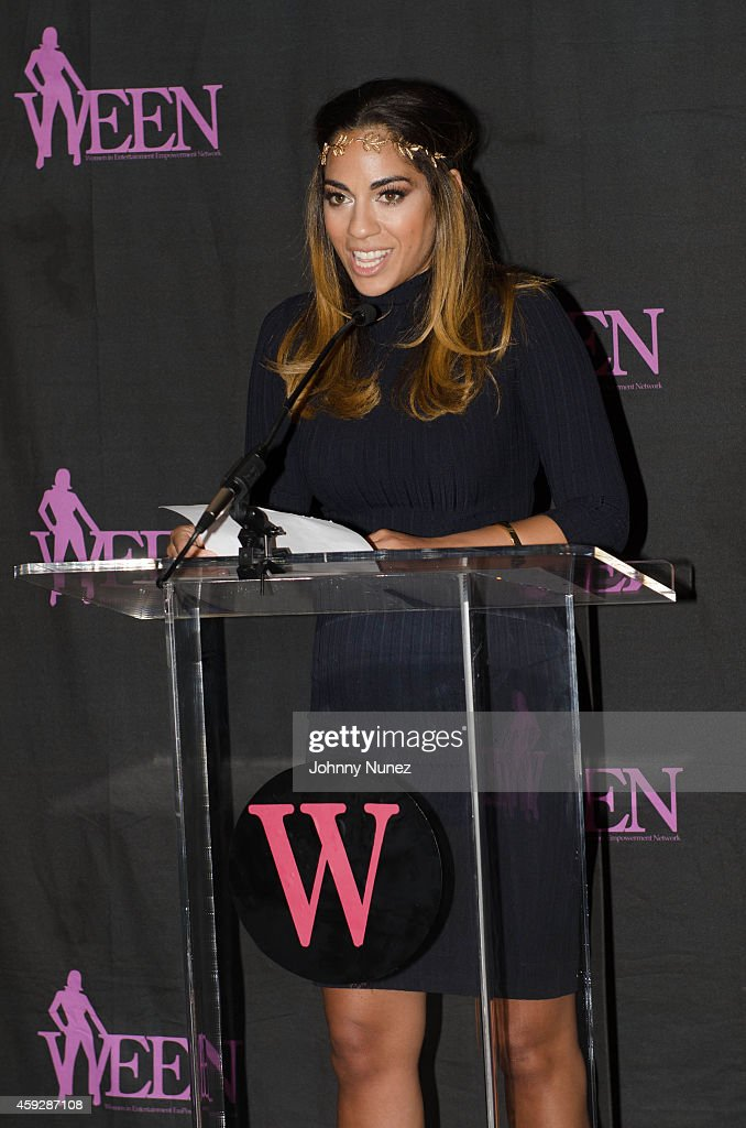 Sharon Carpenter attends the 4th Annual WEEN Awards at Helen Mills Event Space on November 19 2014 in New York City
