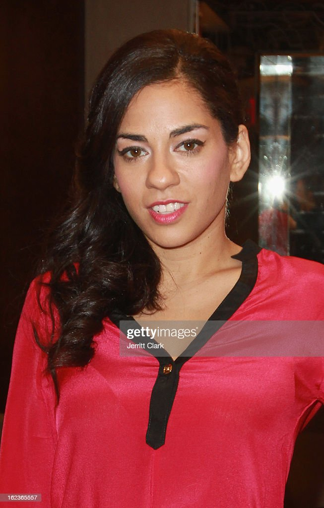 Sharon Carpenter attends the Caravan Stylist Studio New York Presentation at the Carlton Hotel on February 12, 2013 in New York City.